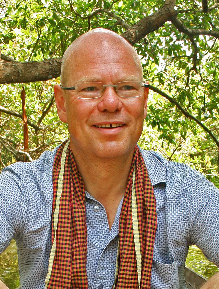 John Einar Sandvand i Siem Reap, Kambodsja
