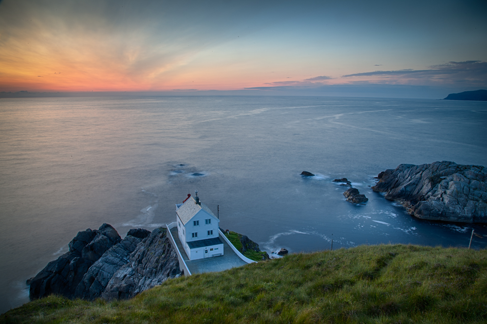 HDR photo from Kråkenes lighthouse - composed of five exposures. Photo: John Einar Sandvand