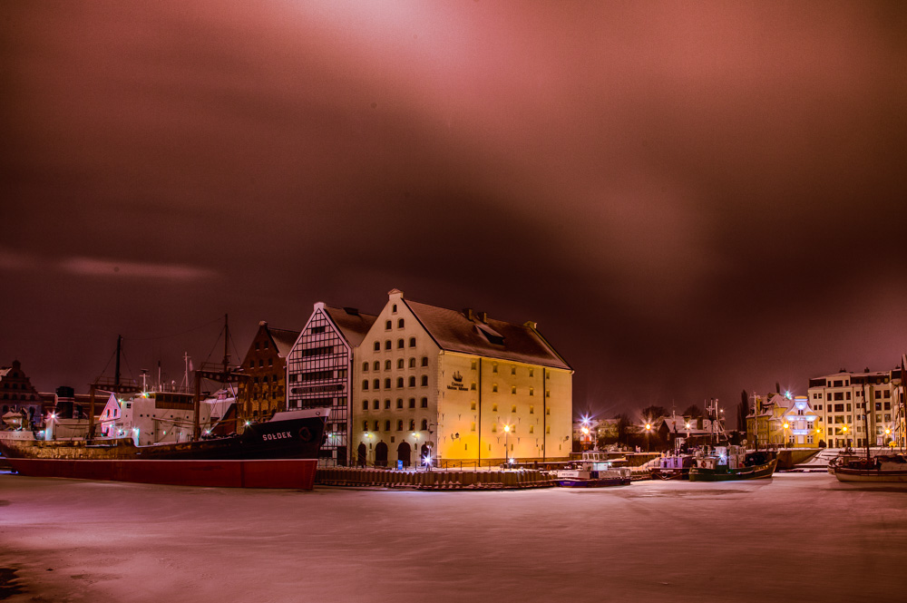 Winter photo from Gdansk. Photo: John Einar Sandvand
