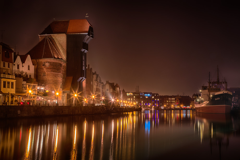 Gdansk by night. Photo: John Einar Sandvand