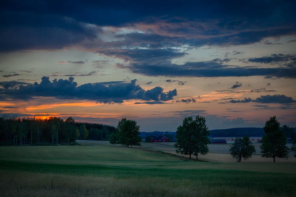 Kveldshimmel. Foto: John Einar Sandvand
