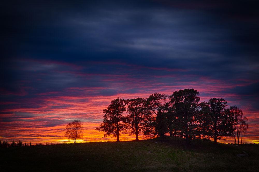 Solnedgang. Foto: John Einar Sandvand