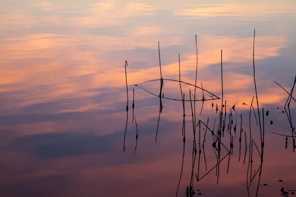 Clouds in water. Photo: John Einar Sandvand