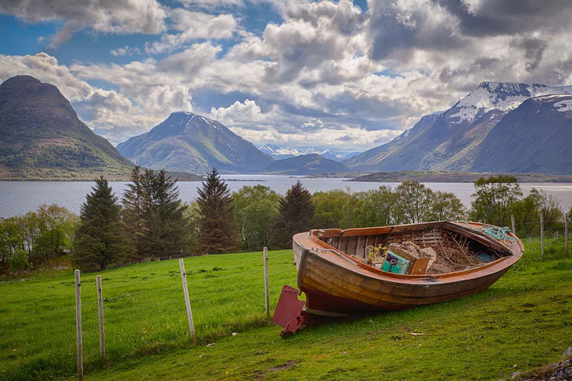 Fjord boat! Photo: John Einar Sandvand
